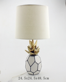 Ceramic Pineapple Lamp